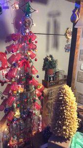 Christmas Tree Plastic Bottles Brings Natal Cupcakes …- Al…