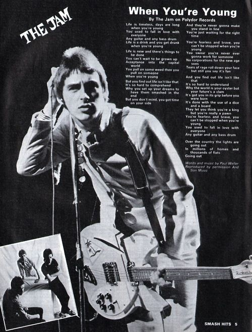 Paul Weller and The Jam. https://www.facebook.com/groups/230191858561/