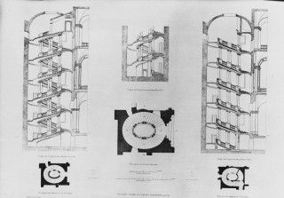 Best Plans Drawings Spiral Stair Palazzo Barberini Bernini 400 x 300