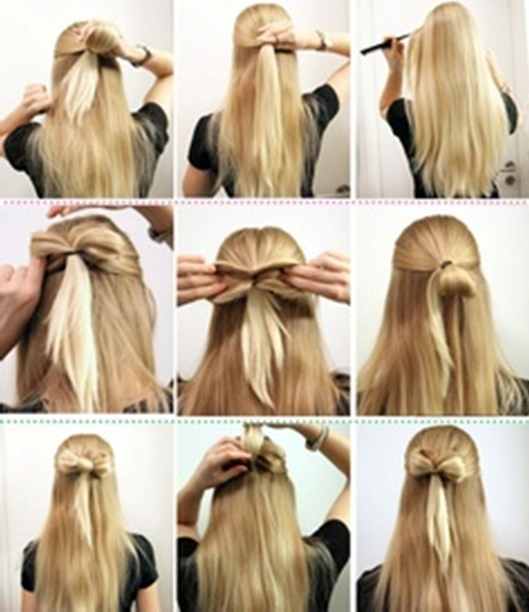 Hairstyles Step By Step - Google Search