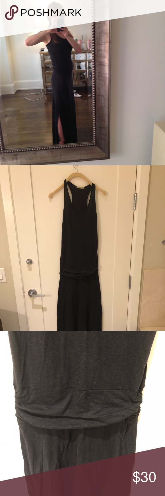Alternative Apparel Black Racerback Maxi Dress Long Black Dress With Folded Band Around Waist Racerb Racerback Maxi Dress Alternative Outfits Long Black Dress [ 1740 x 580 Pixel ]