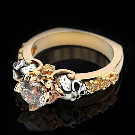 Ring Love to the Death from 14 gold Average weight 12 gr at a