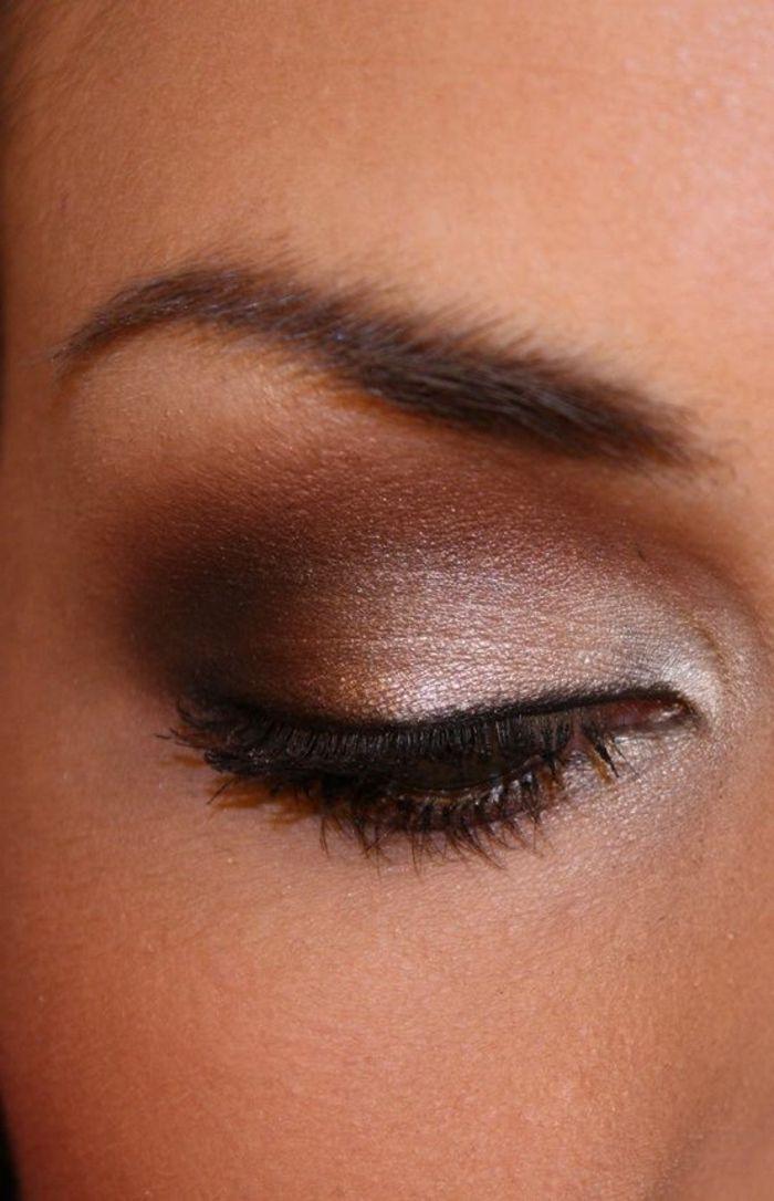 60 id es pour le maquillage yeux marrons maquillage yeux marrons yeux marrons et se maquiller - Conseil maquillage yeux marron ...