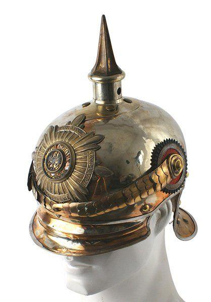 Prussian Garde du Corps NCO helmet : Lot 329