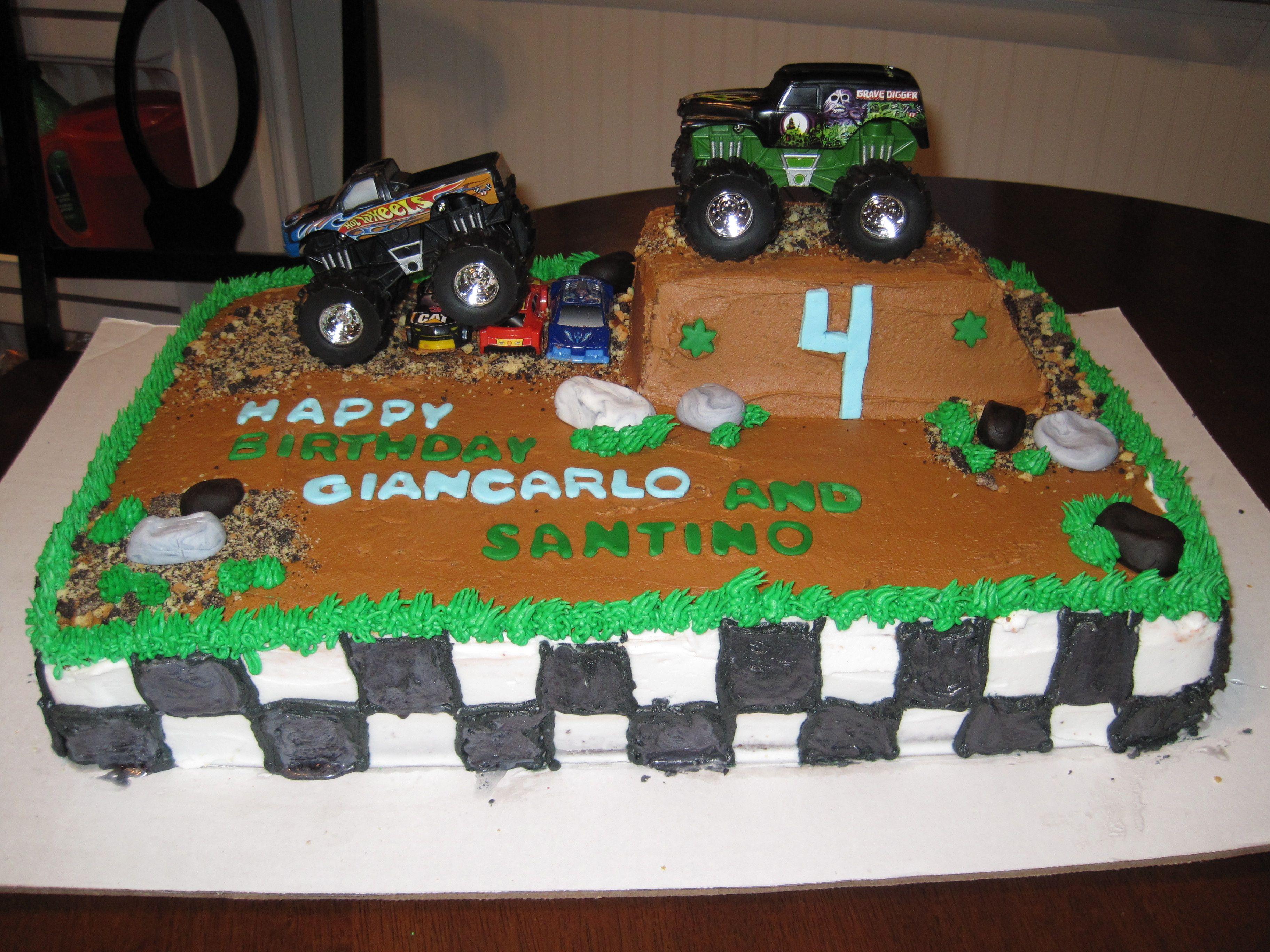 Monster Truck Cake Truck Cakes Monster Truck Cake Monster