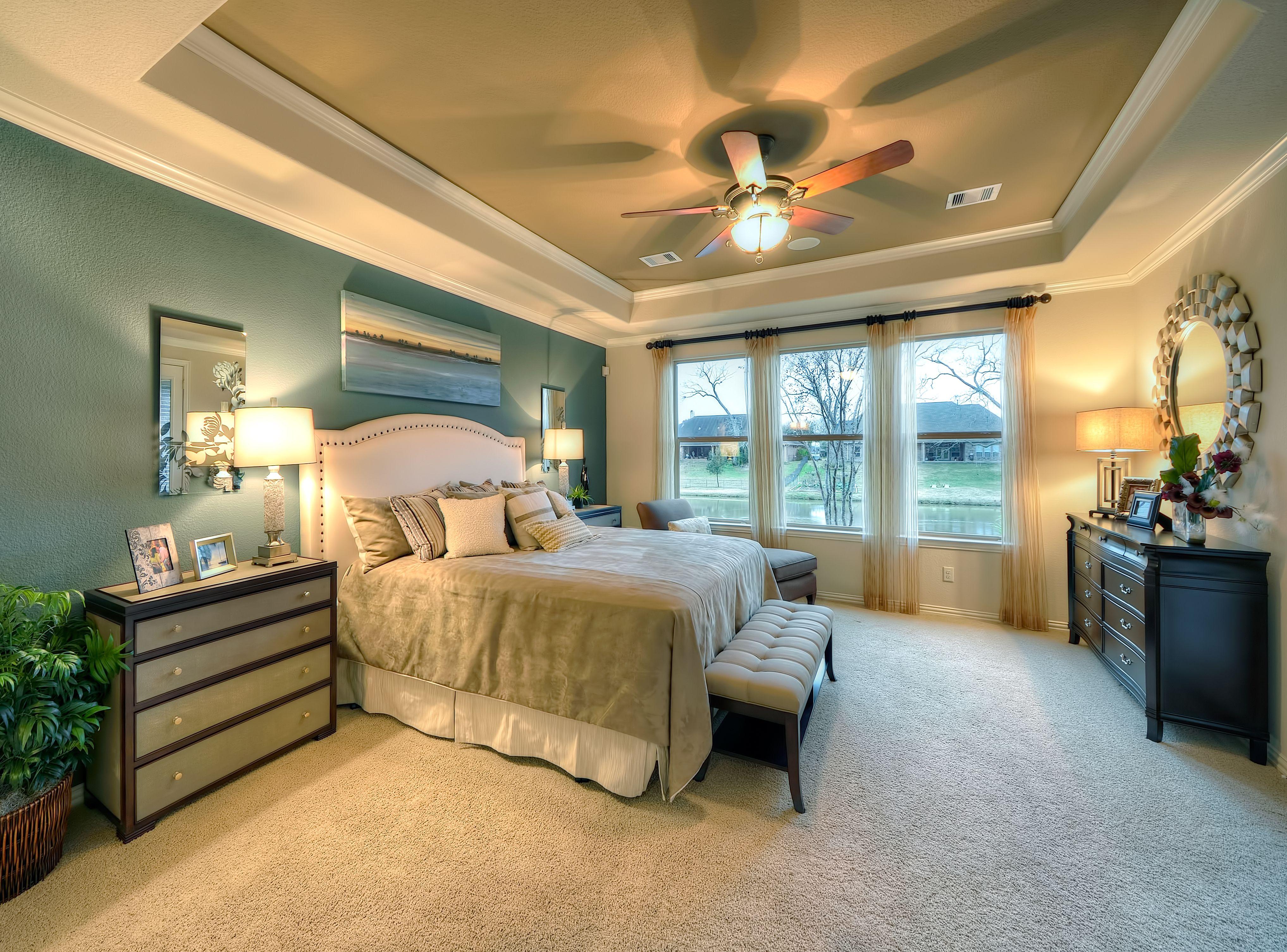 Weston Lakes Master Bedroom #masterbedroom #bedroom #decor ...