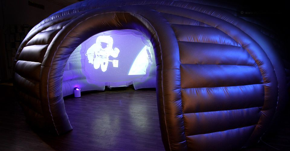An Instant Inflatable Space 4d Immersive Inflatable Inflatables Instant