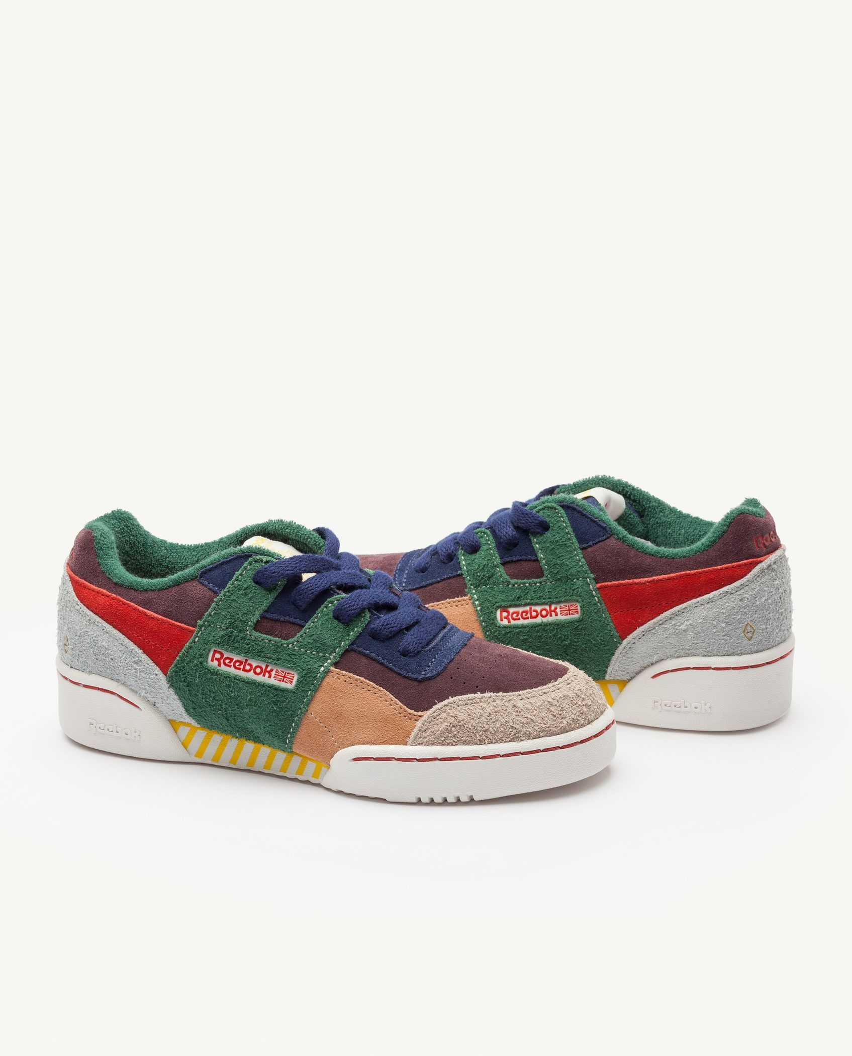 ab6a598f60b Reebok Classic x The Animals Observatory Workout Plus Multicolor Kid ...