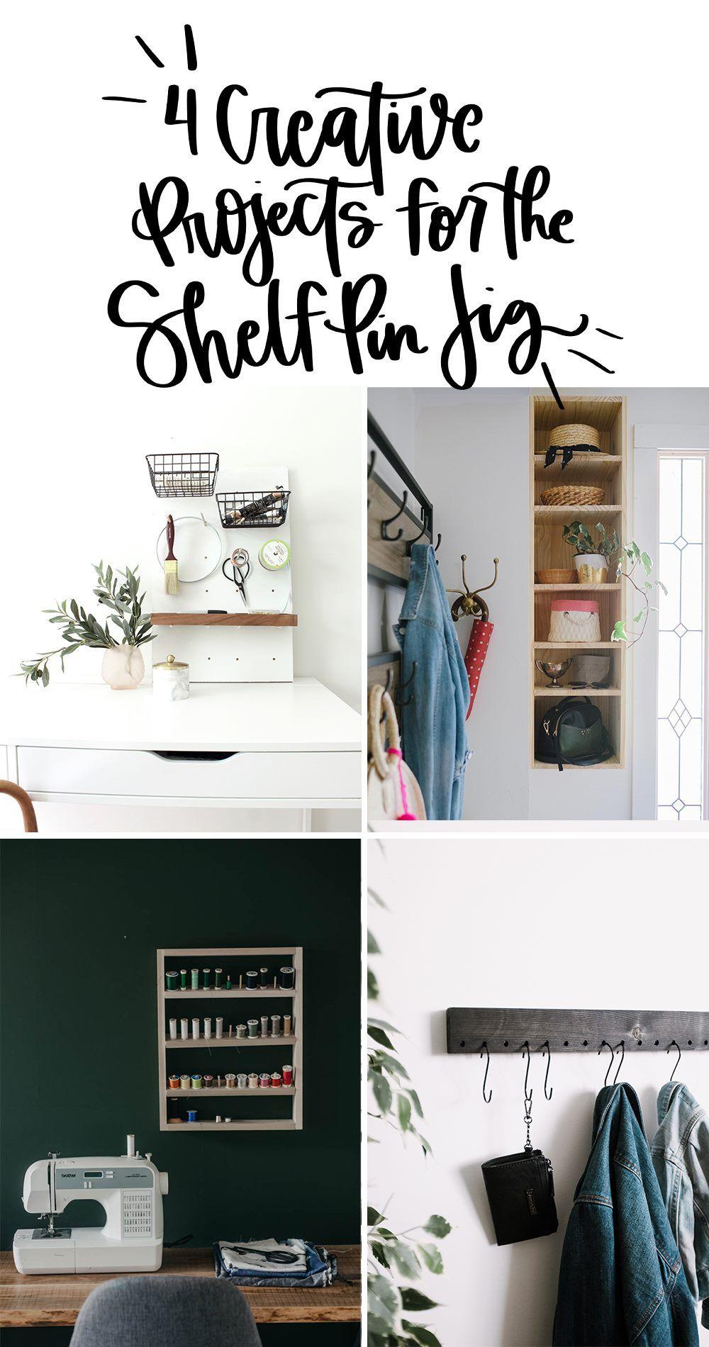 Diy Front Entry Organization Shelving Craft Storage Shelves