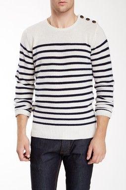 Breton Stripe Wool Sweater