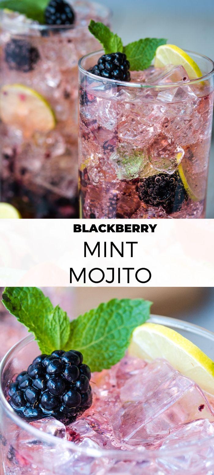 Blackberry Mint Mojito