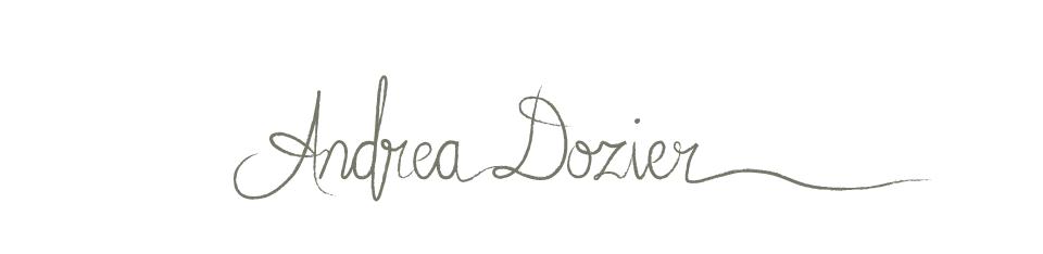 handwriting logo Andrea Dozier Wedding Photography based in Dayton ...