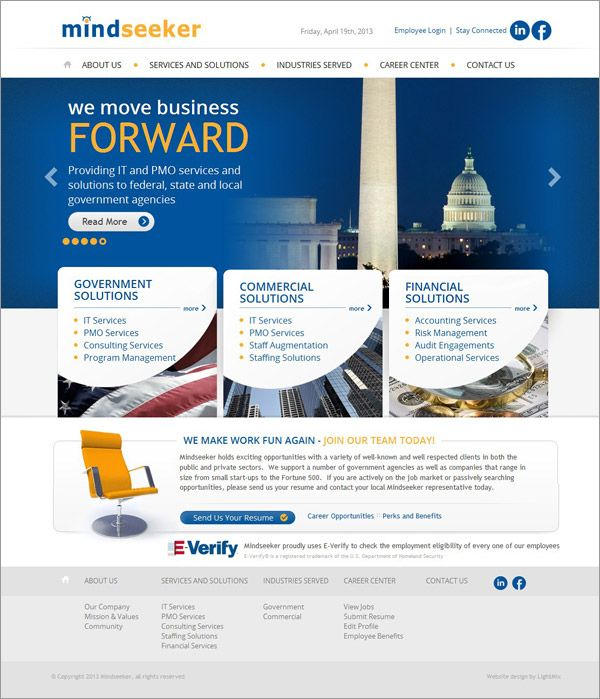 Dc Web Design Dc Consulting Firm Website Design Website Design Web Design Firm Web Design