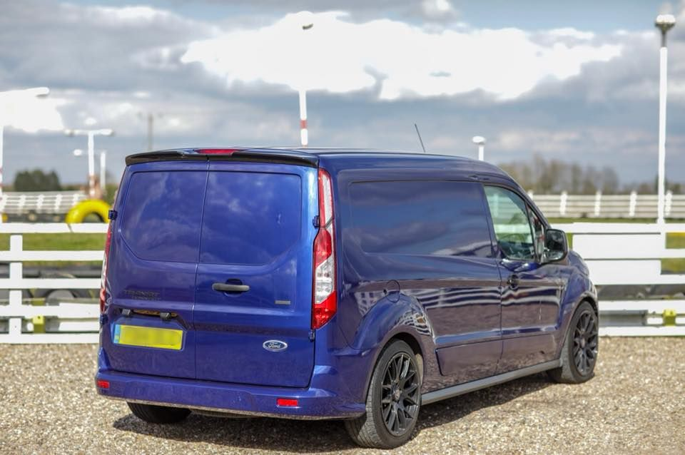 Ford Transit Connect Barn Door Spoiler Ford Transit Ford Ford