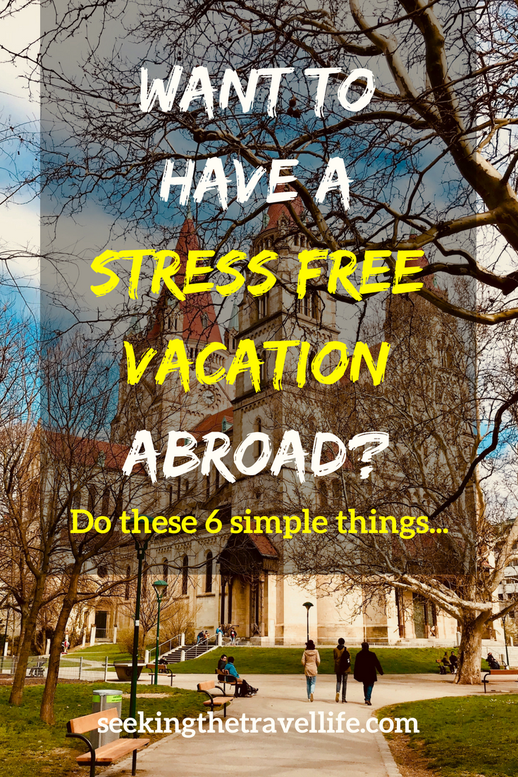 6 Steps to Stress-Free Travel