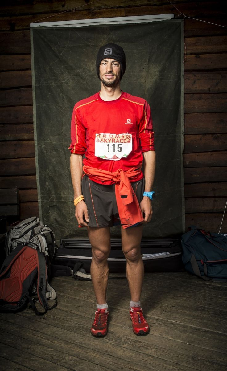 Kilian Photographed at the end of his Tromsø