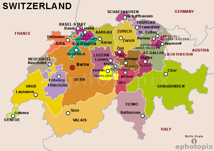 Here And There Regions Of Switzerland Languages