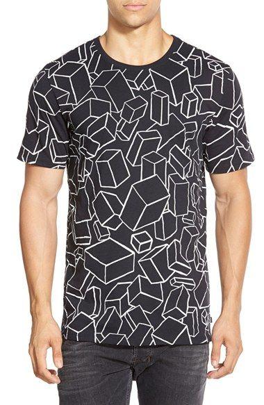 2694dc27 Nike 'SB DF AOP Bricks' Print Crewneck T-Shirt available at #Nordstrom