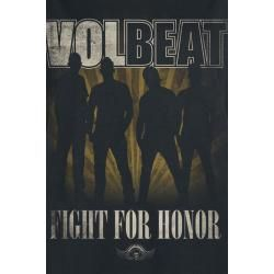 Volbeat Fight For Honor T-Shirt #filmposterdesign