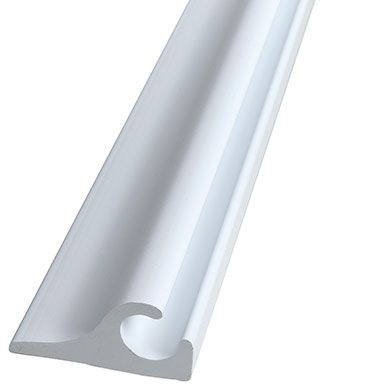 Awning Track Flanged White 90 Roller Shades Track Roller Awning