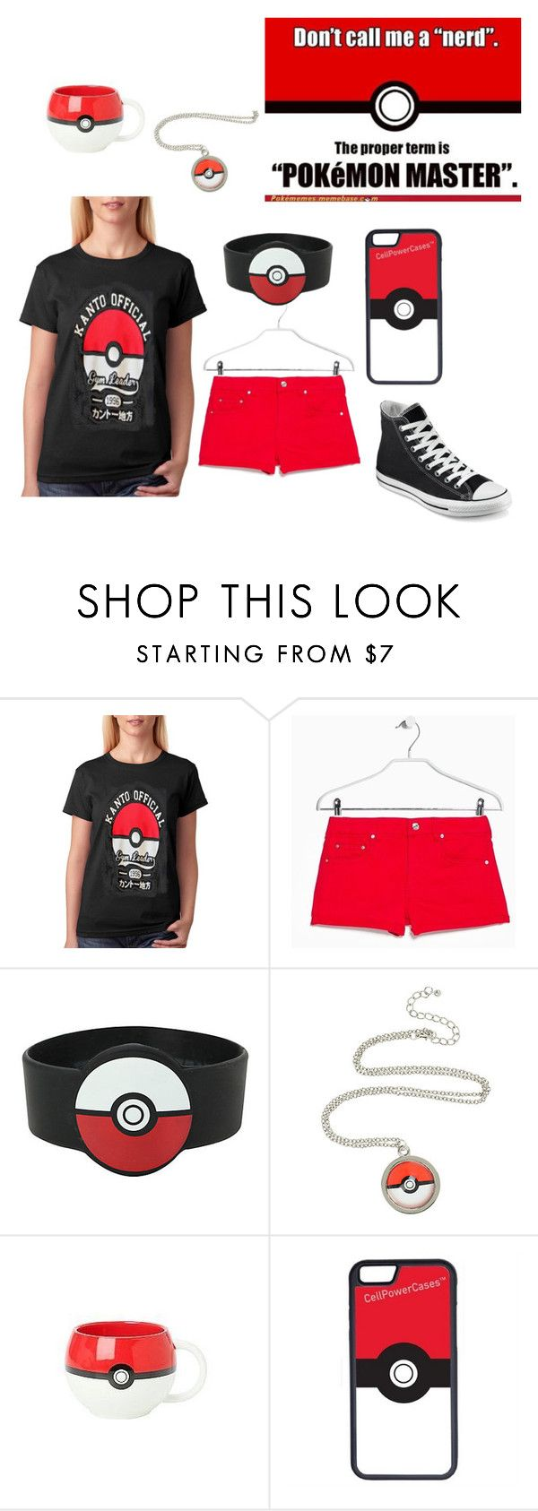 Me xD by blueflower369 on Polyvore featuring MANGO, Converse and CellPowerCases
