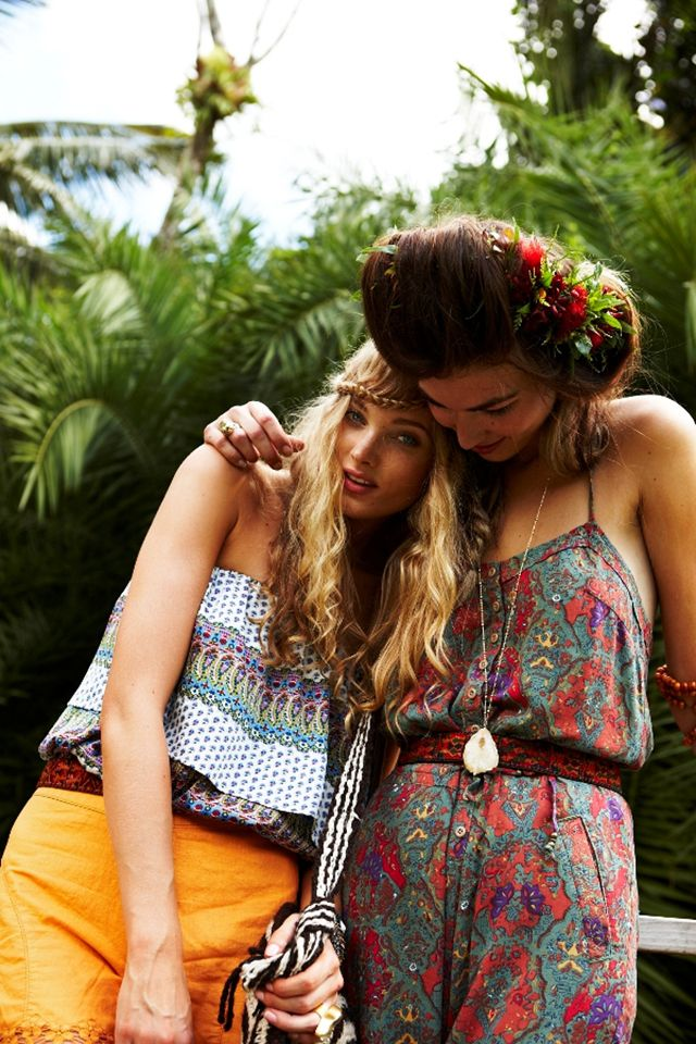 Elsa Hosk and Tallulah Morton for Free People May 2011 Catalogue by Frédéric Lagrange