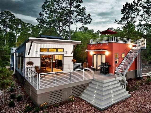 Awesome Modern Interior Design : Off Grid Homes Plans