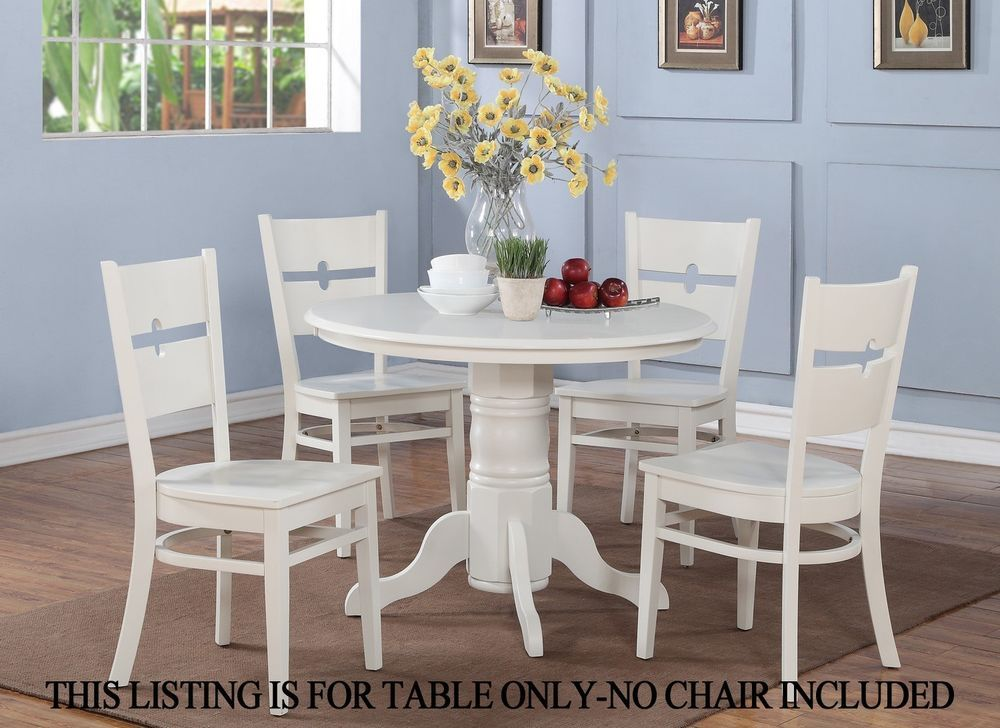 One Dinette Kitchen Dining Table 42 Round Without Chair In Extraordinary Room Tables Columbus