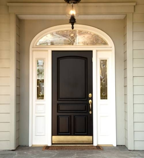 Bon Craftsman Style Front Entry Doors | Transitional Colonial Door Craftsman  Style Door Decorative Glass Door .