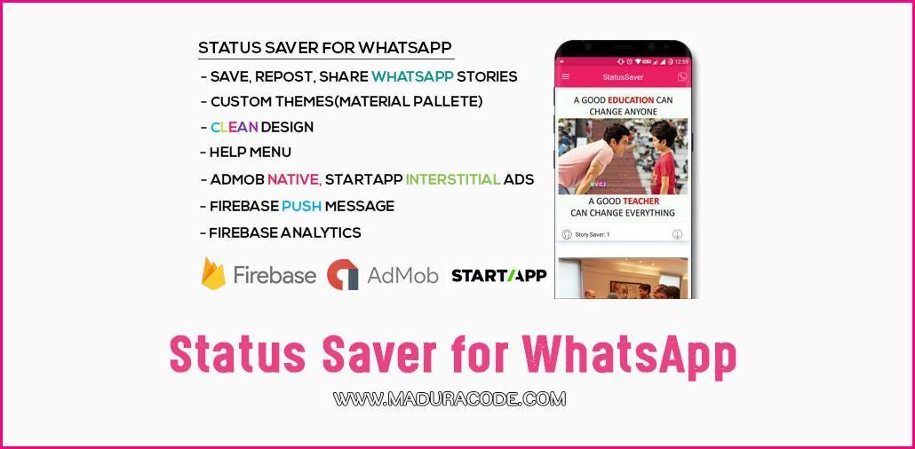 Source Code Status Saver for WhatsApp   Source Code   Coding