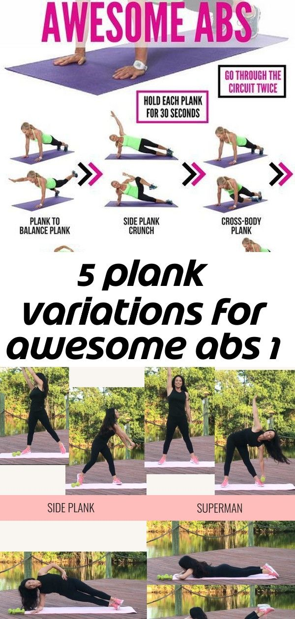 5 plank variations for awesome abs 1 #sideabworkouts