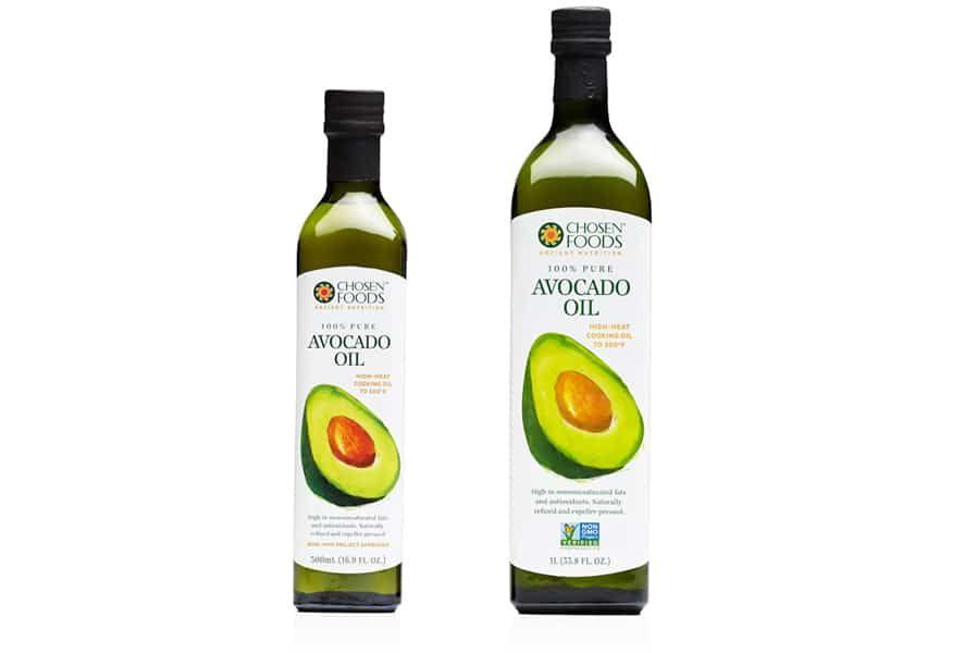 Avocado Oil Packaging Design Chosen Foods Branding Design Packaging Cooking Oils