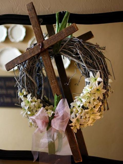 Love this Easter wreath