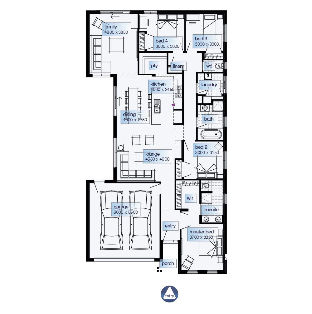 Simonds Homes Floorplan - Palisade   Casa dos sonhos   Pinterest