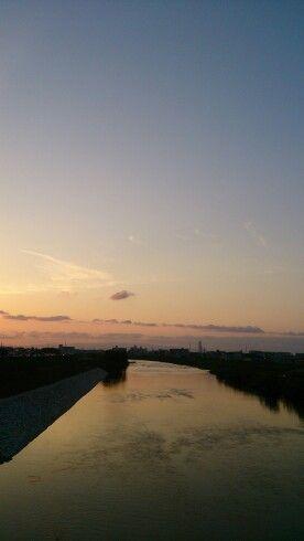 Yamato River. (Osaka Japan)