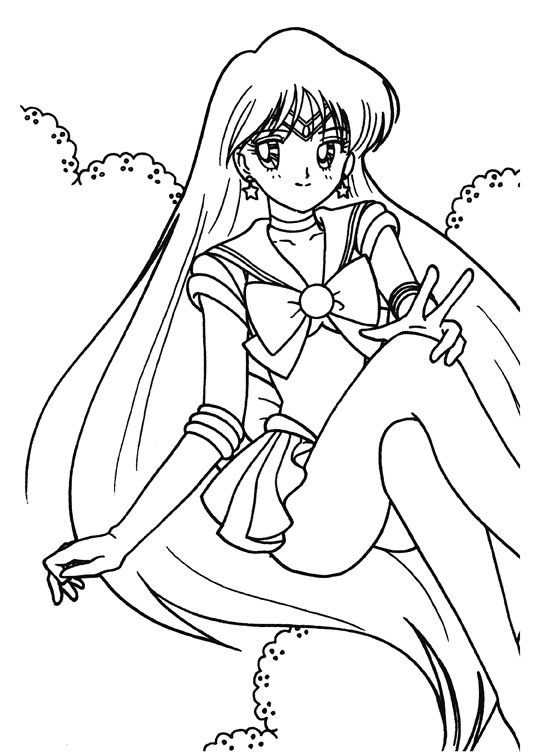 Collection Of Sailor Moon Coloring Pages