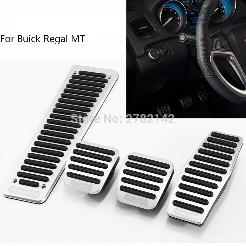 Car Styling Pedal Cover Fuel Gas Brake Foot Rest Housing No Drilling For Buick Regal Mt 2009 2016 Fuel Gas Buick Lacrosse Buick Regal