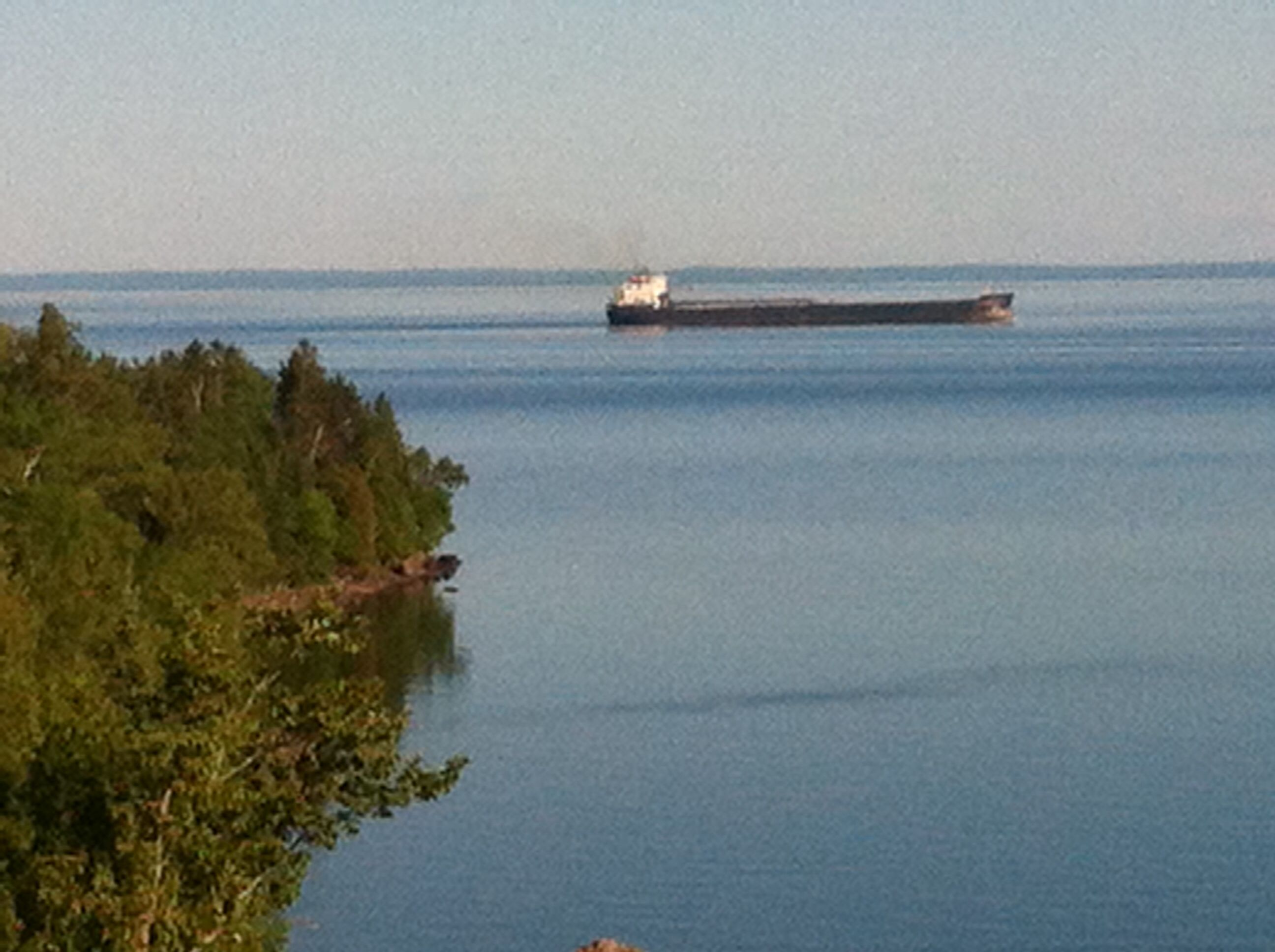 Freighter Lane from Two Harbors