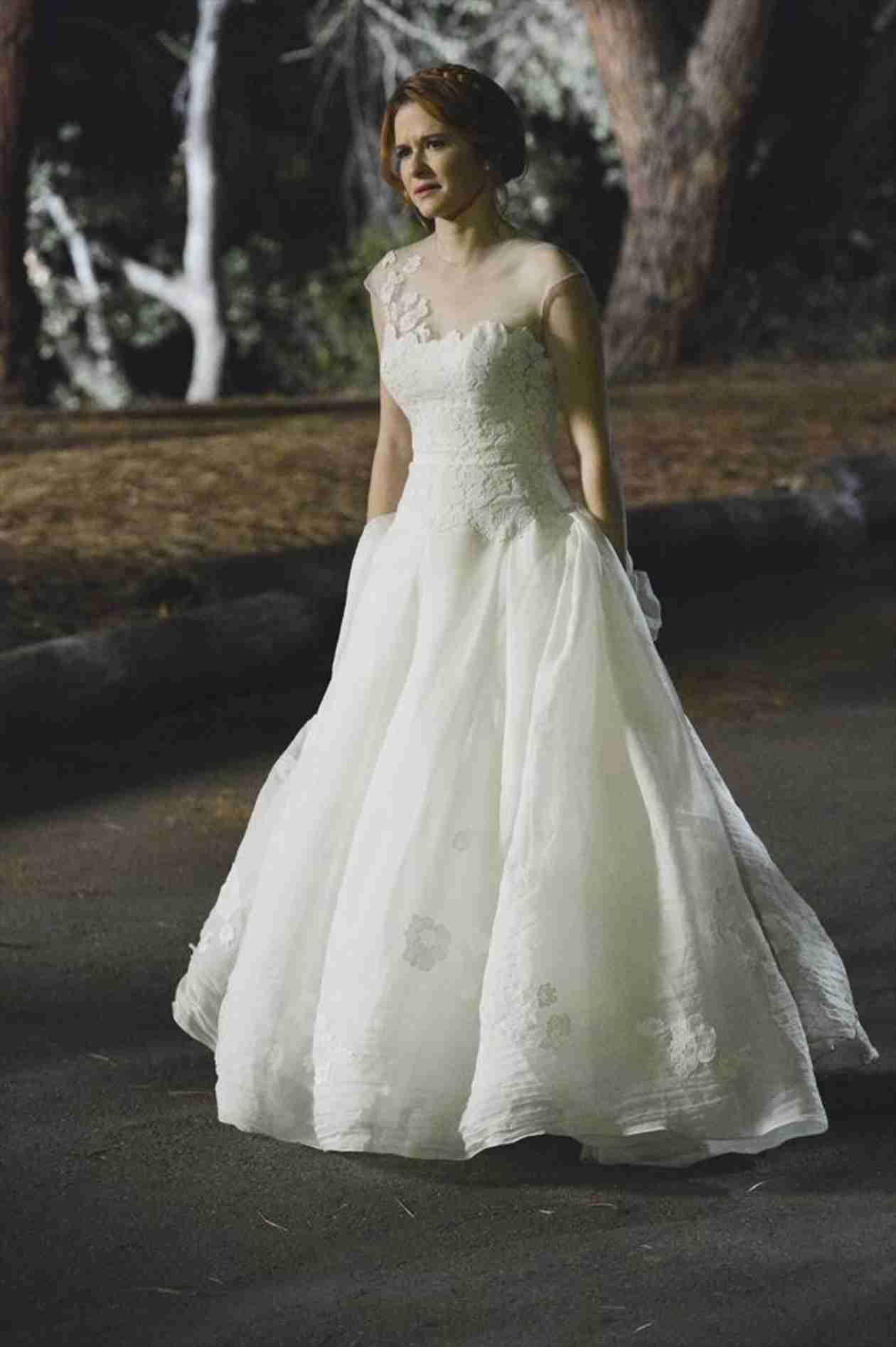 Pin by ninx.sue on Japril  Greys anatomy april, Wedding dresses