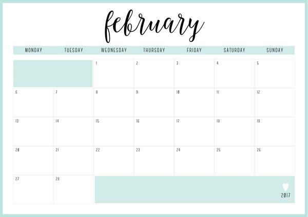 Free Printable Irma  Monthly Calendars  Calendar