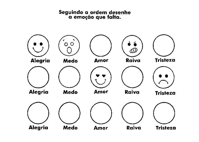 100 Atividades Educativas Para Imprimir Sobre Emoções