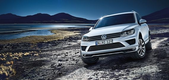 The VW Touareg is a luxury SUV offering premium features ...