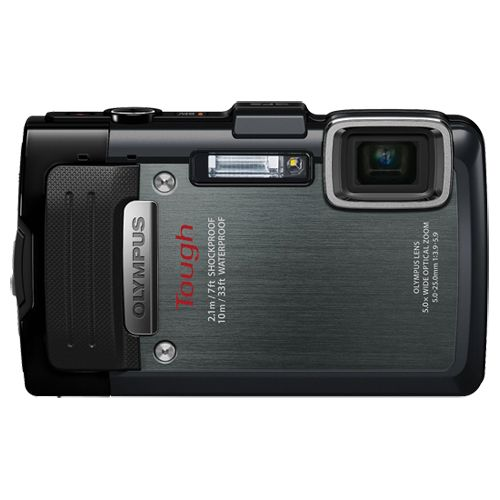 Olympus TG-830iHS 16MP Waterproof Digital Camera - Black