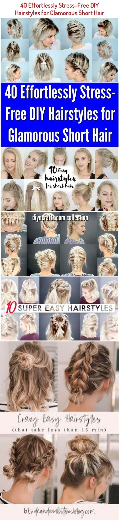 Pin On Hairstyles For Short Hair Easy