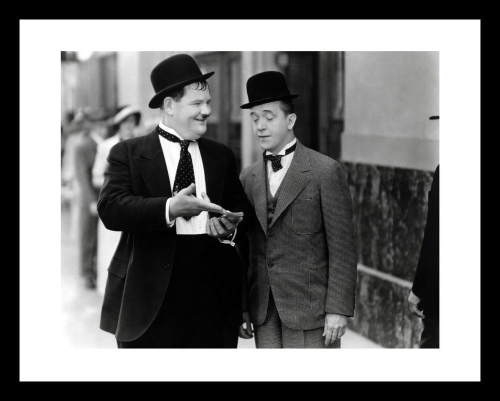 LAUREL & HARDY 11X14 Photo Print 1920s Comedy Hollywood | Pinterest ...