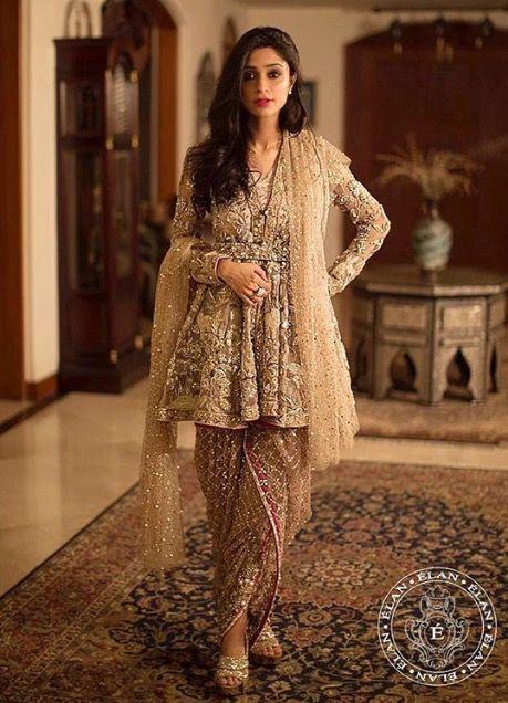 Pin by Aqsa Bano on Pakistani Fashion | Pakistani frocks ...