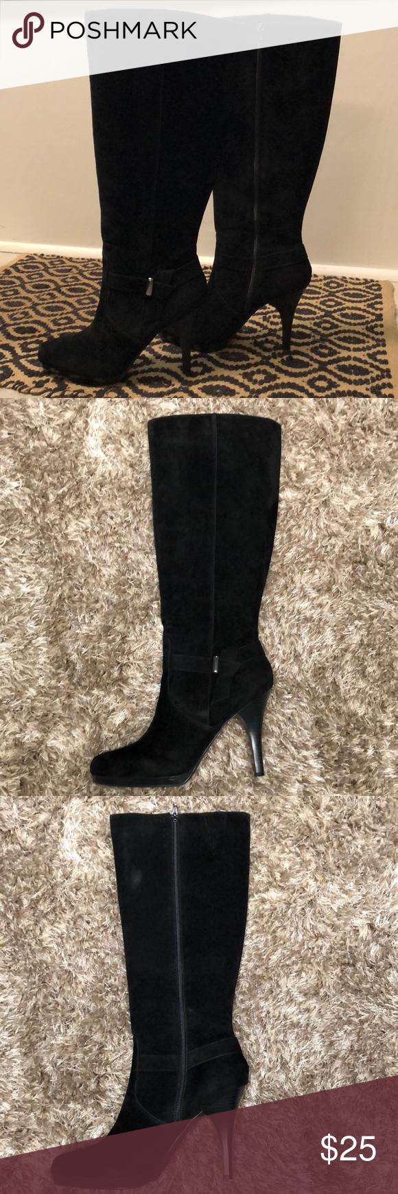 Stylish Worthington Mercury Black Boots Size 11 Black Boots Dress With Boots Black Dress Boots [ 1740 x 580 Pixel ]