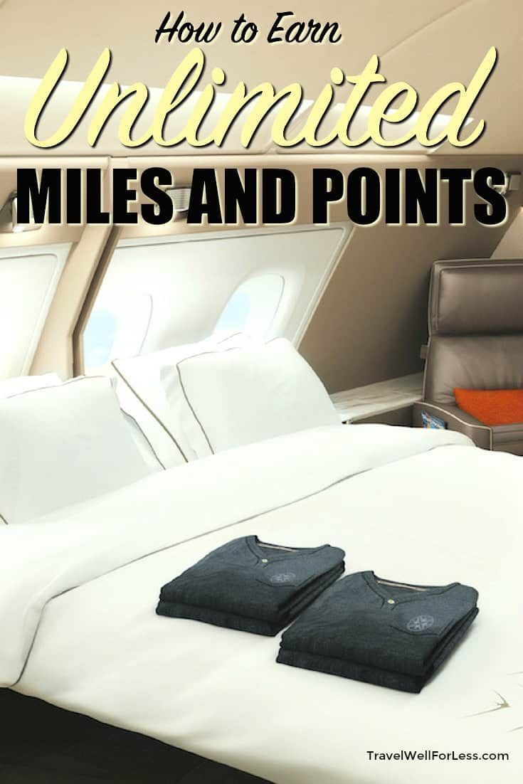 You can earn lots of airline miles and points. Use this simple, easy, quick trick to earn unlimited miles and points every day. #travel #travelhack #milesandpoints #traveltips #travelwell4less