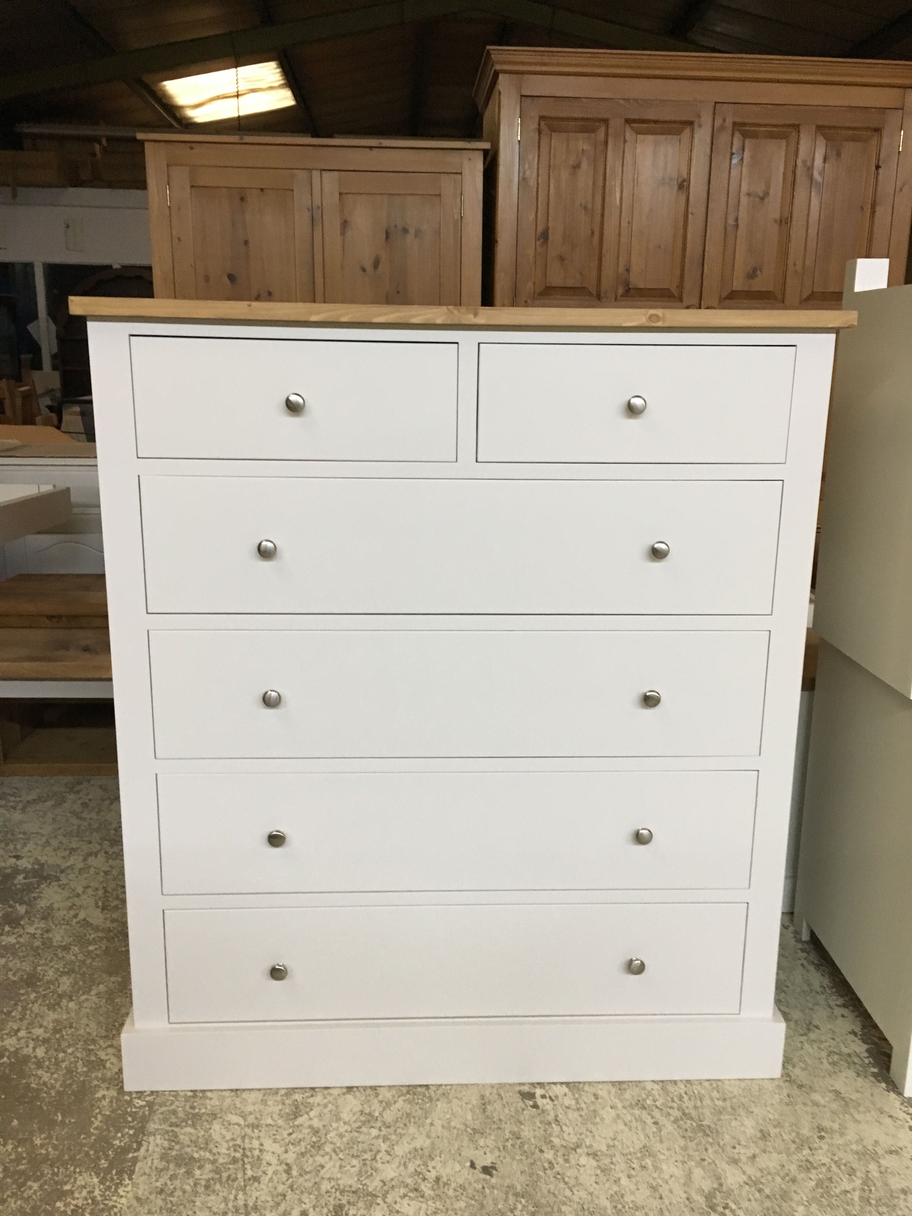 Large 2 Over 4 Chest Of Drawers Bespoke Furniture At Affordable Prices Cobwebs Furniture Company Pine Furniture Furniture Solid Wood Furniture
