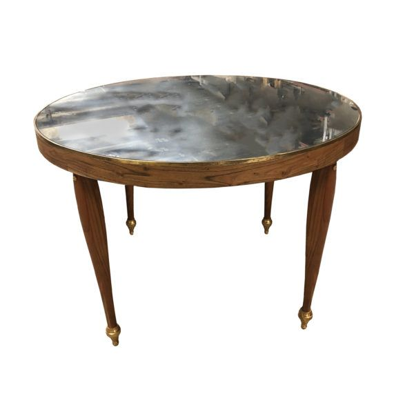 French Center Table With Mirror Top The Renner Project With